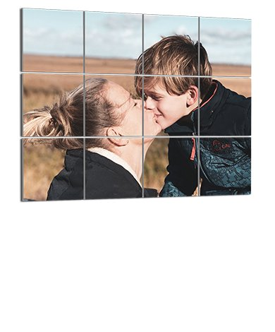 Foto über mehrere Squares