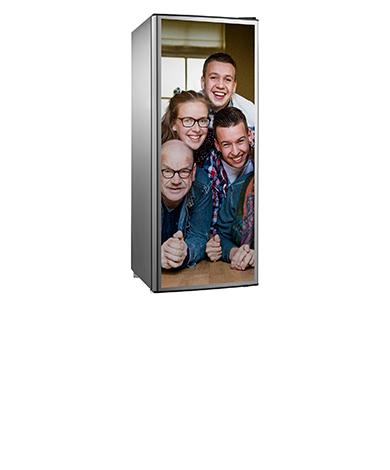 Kühlschrank-Aufkleber