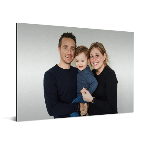 Foto auf Aluminium Familie
