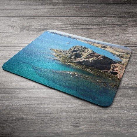 Urlaubsfoto auf Mousepad