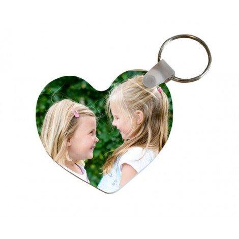 Schlüsselanhänger mit Foto Herzform
