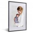 Fotorahmen schwarz foto Mutter Baby