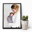 Fotoposter baby interieur
