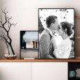 Fotoposter Hochzeit Interieur