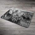 Foto auf Mousepad schwarz weiss