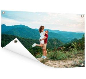 Foto op aluminium 60x40 cm