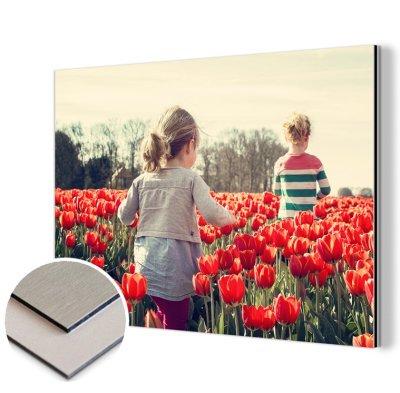 baklijst om je foto op aluminium