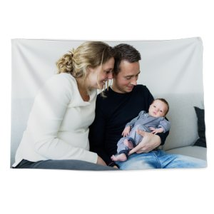 Wandtuch Familienfoto