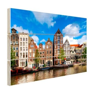 Herengracht in Amsterdam Holz