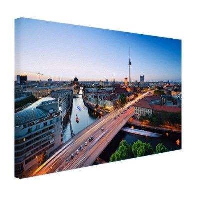 Berlin Skyline Fernsehturm Leinwand