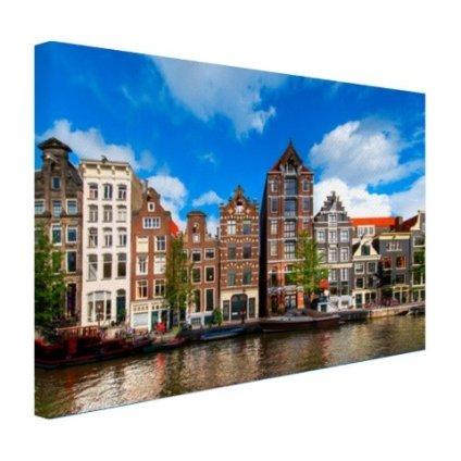 Herengracht in Amsterdam Leinwand