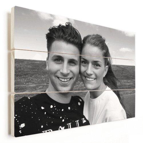 Foto auf Holz Pärchen