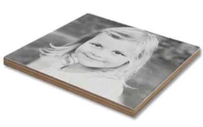 Foto auf multiplex mit whitewash