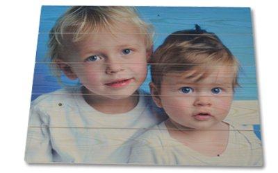 Foto auf Holz ohne Whitewash