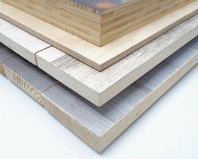 Foto auf Holz Holzarten