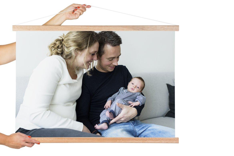 Textilposter mit Latten von Lieblingsfoto.de