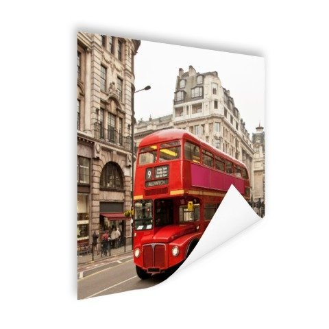 Roter Doppeldecker London Poster