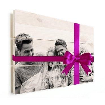 Foto auf Holz Geschenktipp