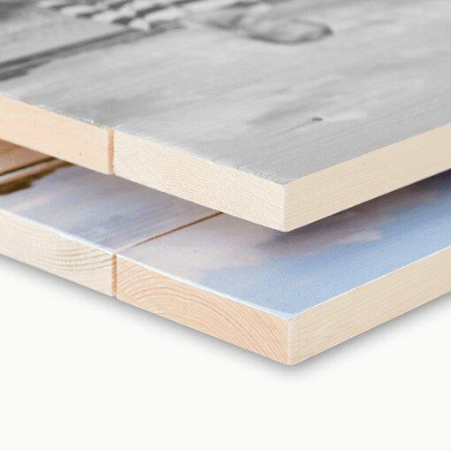 Fichtenholz Material Seitenansicht