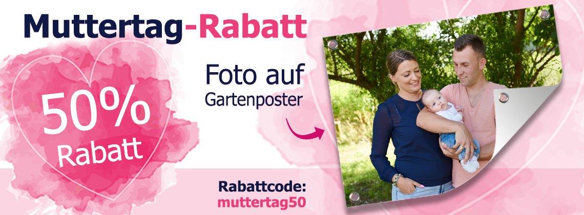 Muttertag header 50% Rabatt!