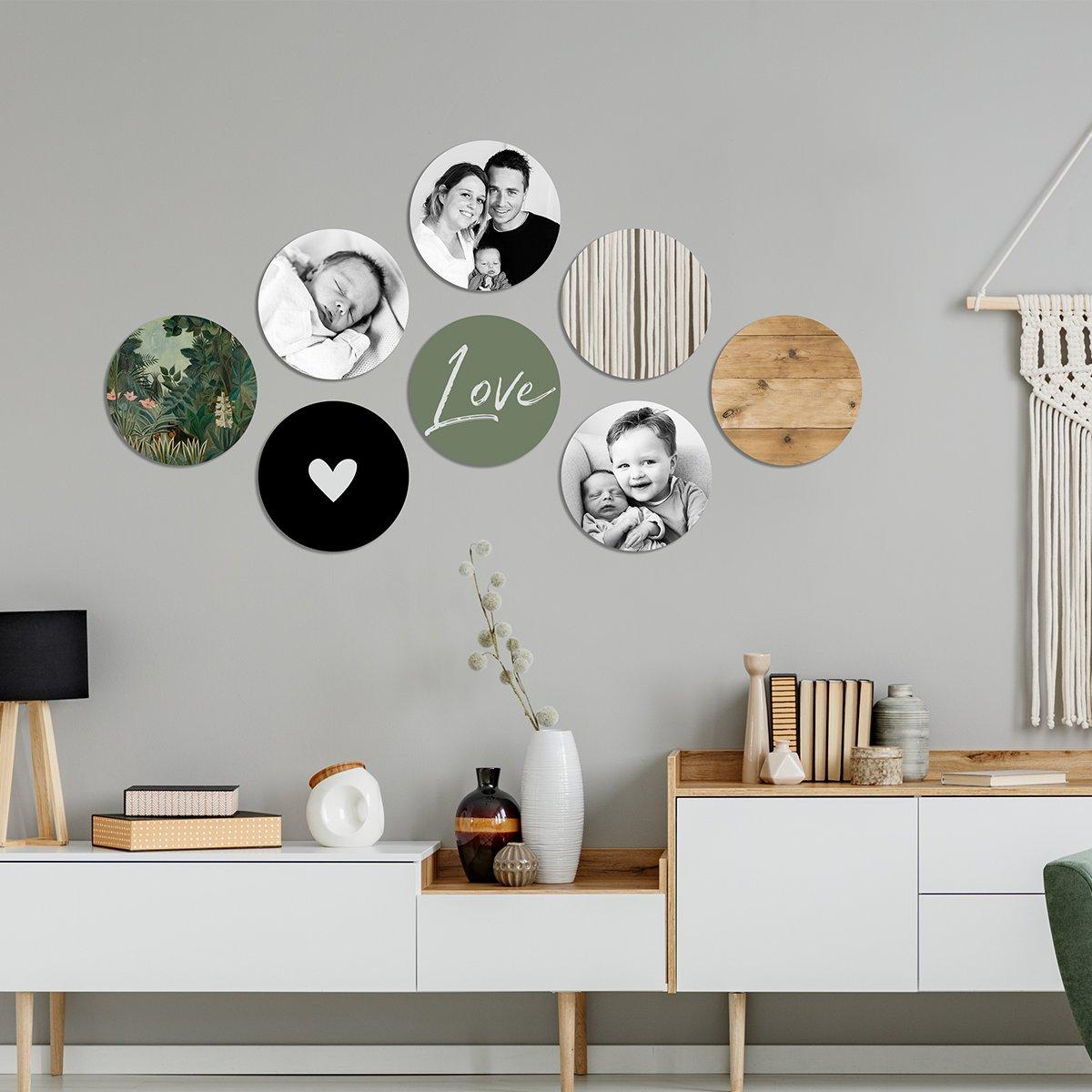 Foto auf circles