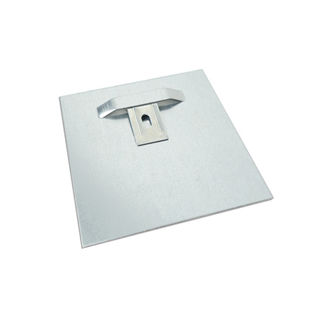 Foto auf aluminium Aufhängesystem