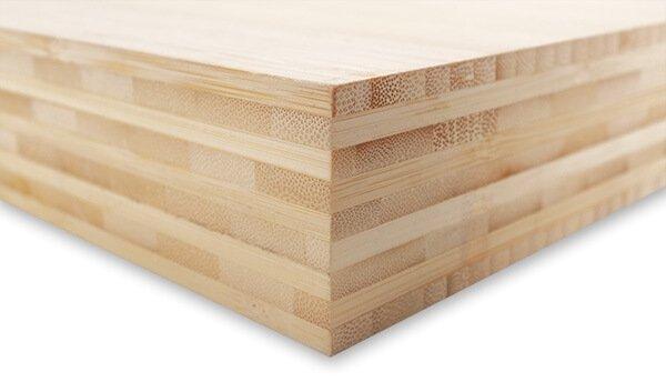 Foto auf Holzblock Bambus