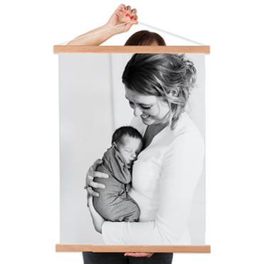 Foto auf Textilposter