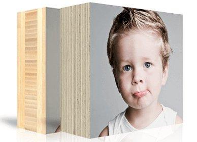 Foto auf Holzblock Preise