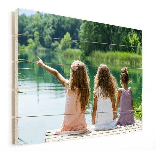 Foto auf Holz Kinder