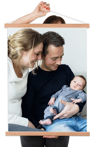 Foto auf Textilposter mitt Familien