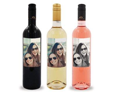 Foto auf Weinflasche Preise