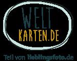 Logo Weltkarten.de