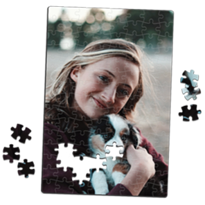 Foto auf Puzzle