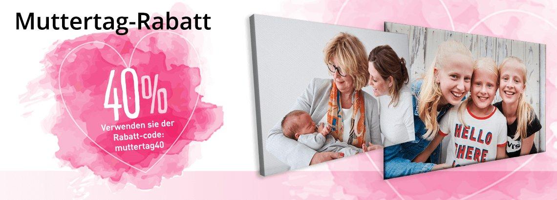 Muttertag header 40% Rabatt!